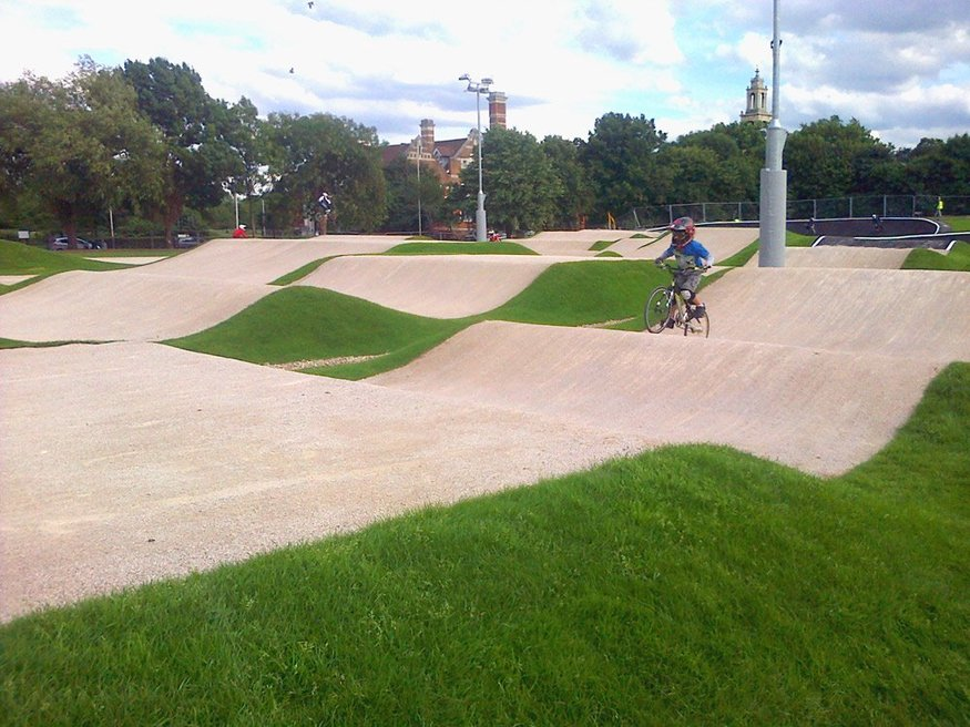 Olympic Legacy BMX Track Opens In Burgess Park