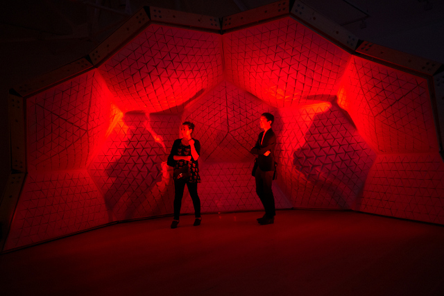 Interactive Fun With Red Never Follows At Saatchi Gallery