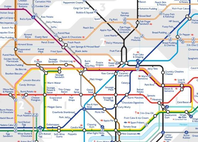 A Synaesthesia Tube Map