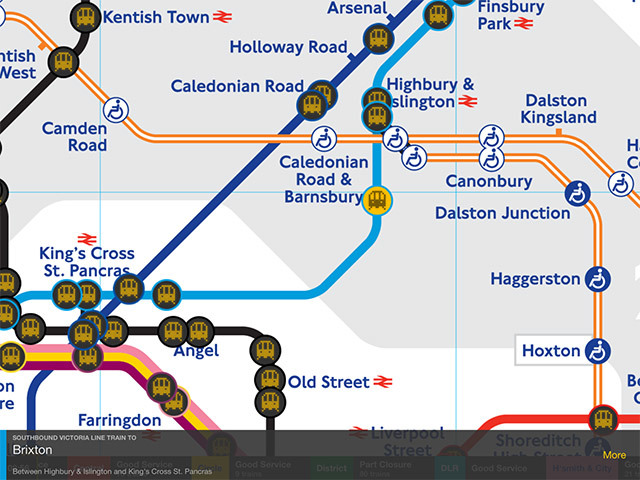 Watch Tube Trains Mapped In Real Time On Your Phone