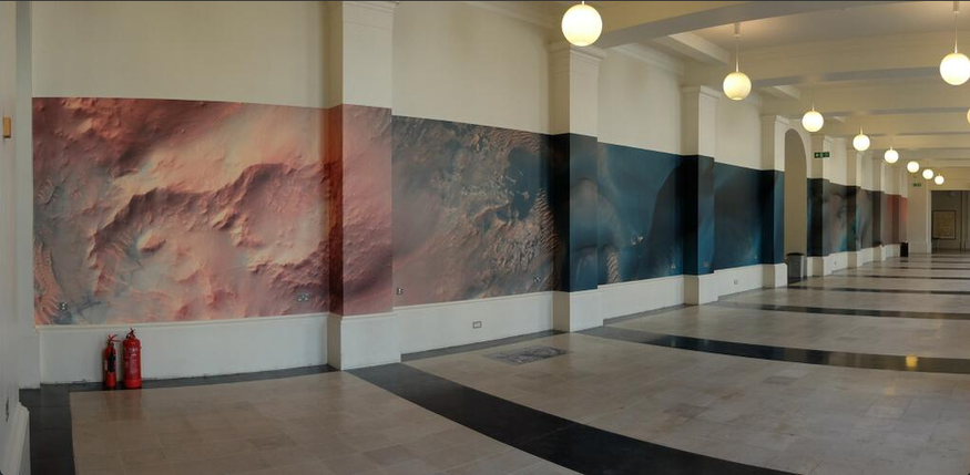 Huge Martian Panorama On Show At UCL