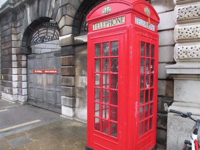 Sherlock Phone-Box Shrine Desecrated