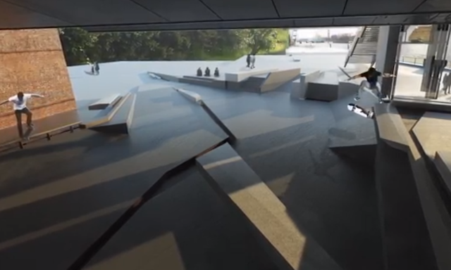 First Impressions Of A New Skate Park Under Hungerford Bridge
