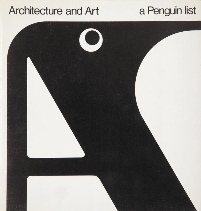 Art, Architecture and Penguin Books: Gerald Cinamon's Graphic Design at ICA