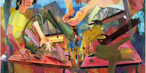 Art Expressed Through Body Language At Saatchi Gallery