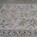 Pavement mosaic panel