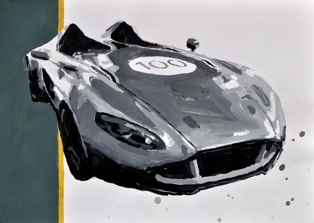 Paintings Celebrate Aston Martin's Centenary