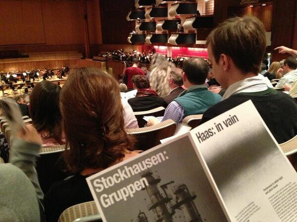 Three Orchestras Playing At Once: Gruppen - The Verdict