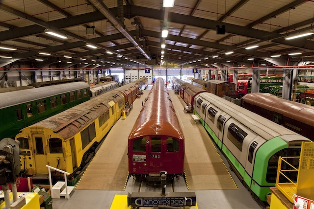 Shoot Heritage Vehicles At London Transport Museum Depot