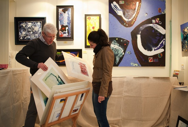 Behind The Artwork: Wimbledon Art Studios' Winter Show