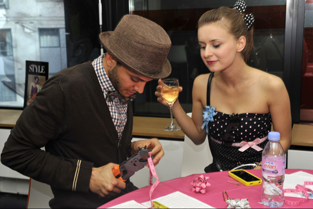 Museum of London/ Clore Learning Centre/ Fabulous Fifties @ late/ corsage craft workshops/ Tatty Divine