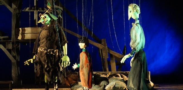 Make creepy puppets for Halloween at Little Angel Theatre