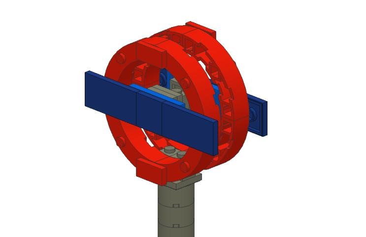 How To Build A Tube Roundel Out Of Lego