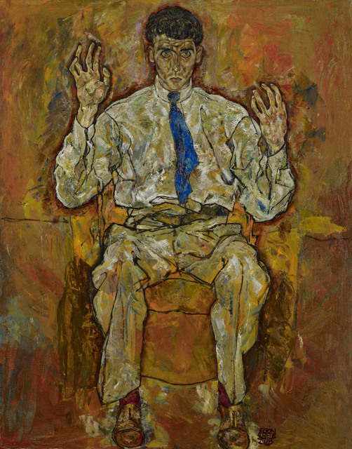 oil on canvas  140 x 110.3 cm Frame: 162.6 x 132.1 x 5.6 cm
