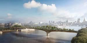Garden Bridge Over The Thames Moves Forward
