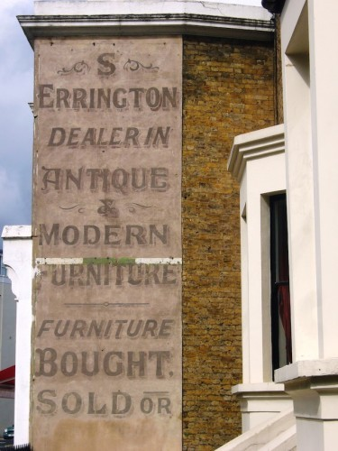 Ever Seen These Faded Ghost Signs Around London