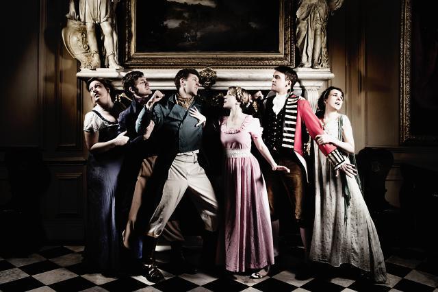 London Comedy: Jane Bussmann, Austentatious, Marcel Lucont