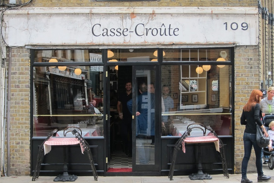 Dining Beyond Zone 1: Casse Croute