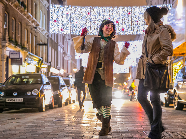 Once Upon A Christmas: Wild And Wacky Panto On The Streets Of Covent Garden