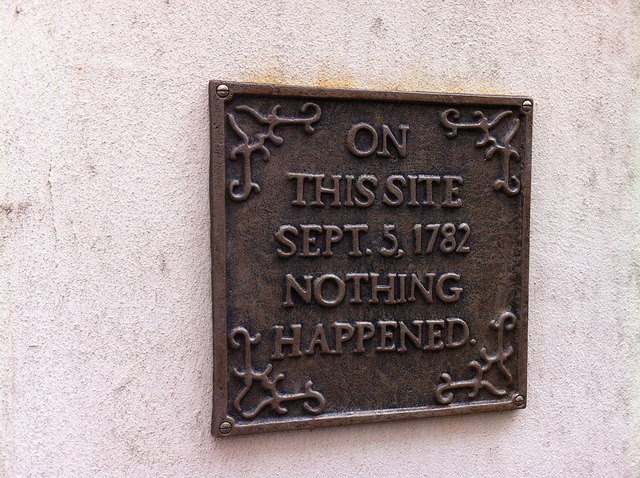 London's Most Outspoken Plaques