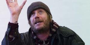 An Unlikely Hero: Rhys Ifans In Protest Song At The Shed