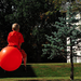 Flying Space Hopper by Paul Treacy
