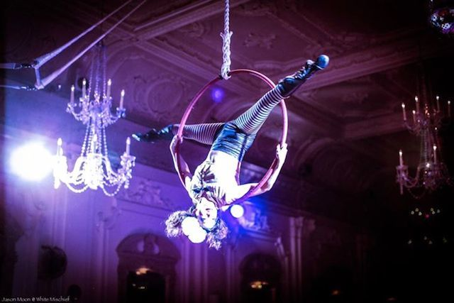 Aerialists, Magic And Burlesque: White Mischief's NYE Extravaganza