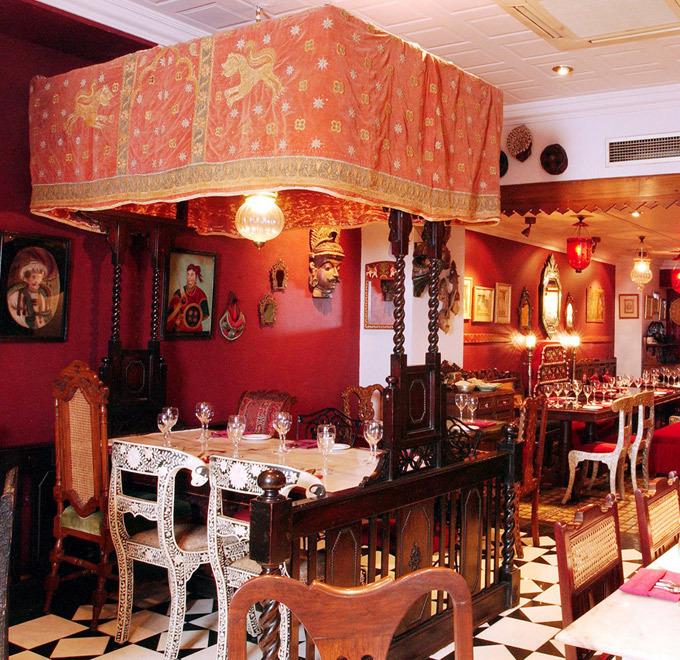 Old Bombay Street Food Menu @ Chor Bizarre