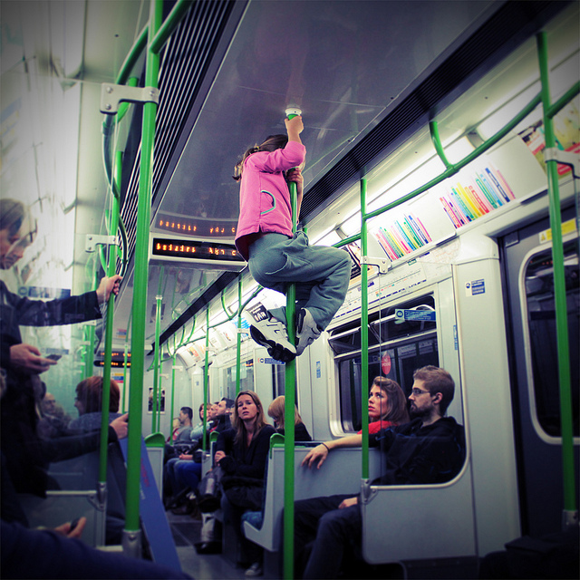 Fun games to play on the tube.