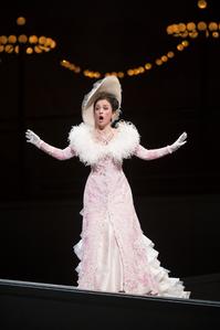 Ermonela Jaho is radiant as the impetuous Manon. (Photo: Royal Opera / Cooper)
