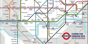 Alternative Tube Maps: Coffee Shops