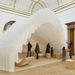 Installation by Diébédo Francis Kéré.    Photo © Royal Academy of Arts, London, 2014. Photography: James Harris / © Kéré Architecture