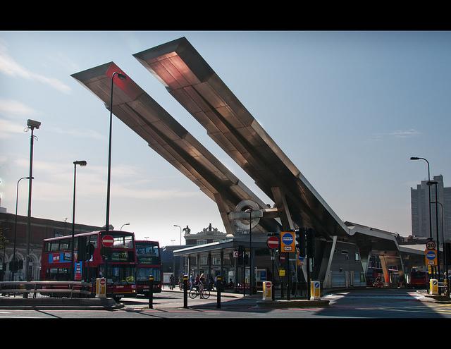 Vauxhall Bus Station by Stuart-Lee