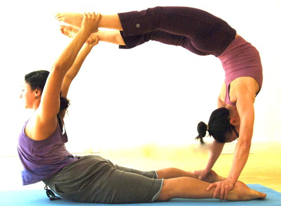 Challenge Poses 2 People on Pinterest Yoga Poses For Two People Easy ...