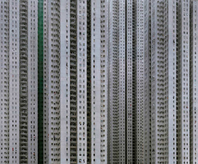 Architecture of Density #13b (Photo: Michael Wolf, courtesy of Flowers Gallery)