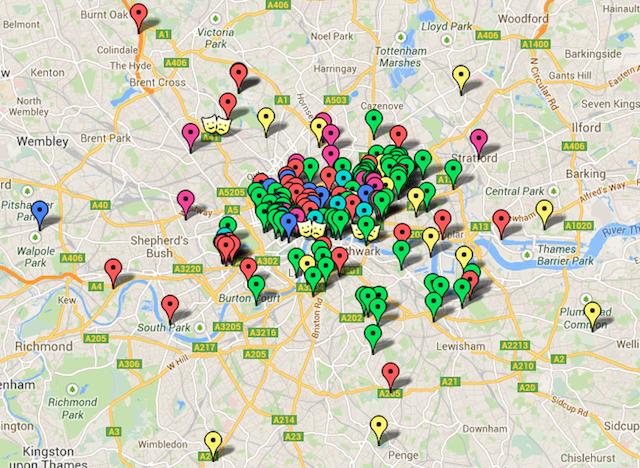 Free London: We've Mapped It