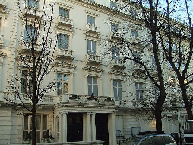 Sherlock Locations: Leinster Gardens