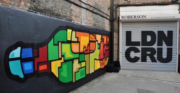 London Cru street art