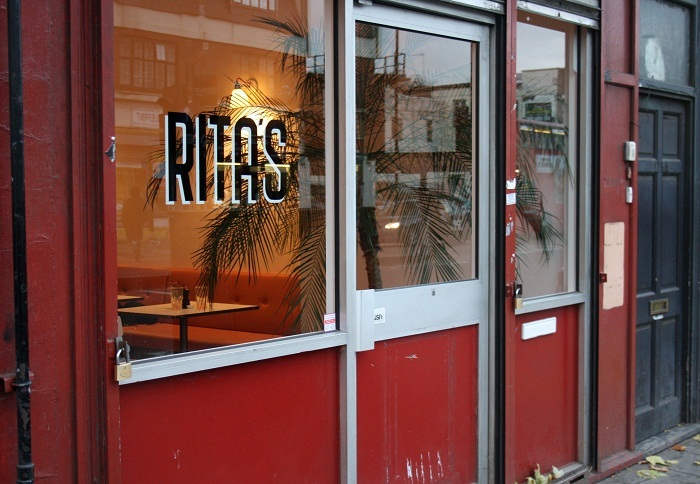 Dining Beyond Zone 1: Rita's