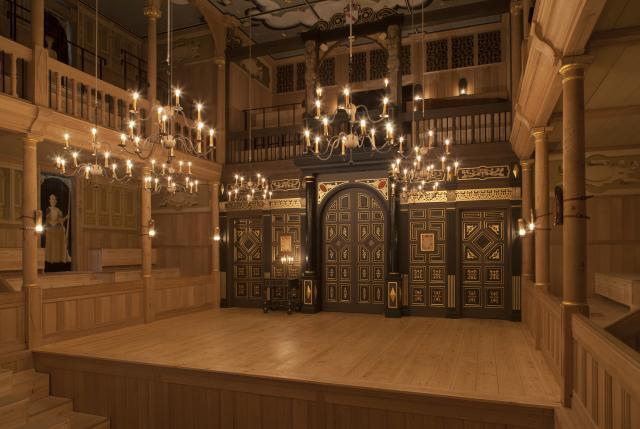Inside The Globe's New Candlelit Theatre
