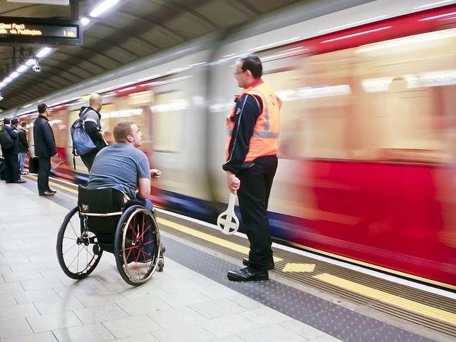 Tube Staff Shortages Close Disabled Access Lifts
