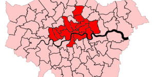 The Bits Of London Where Renting's The Norm