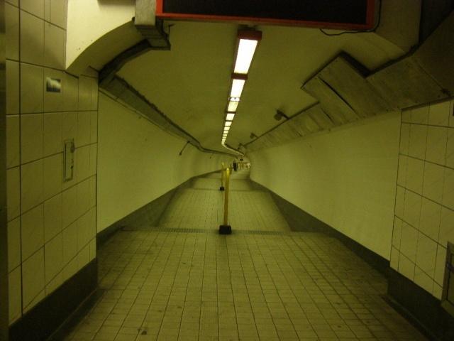 Bank walkway