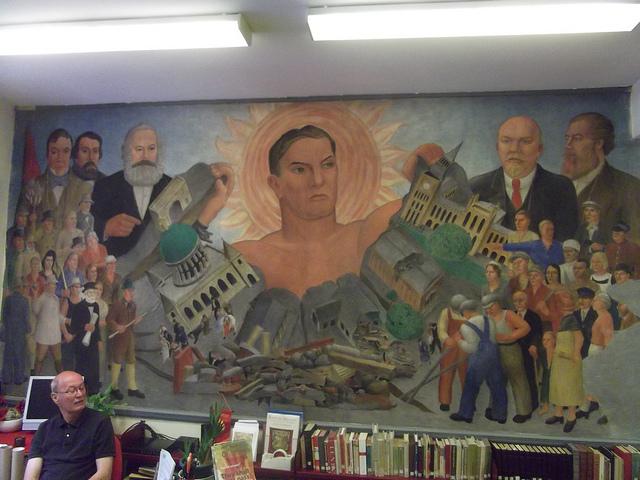 Fresco in Marx Library