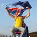 Flag Man by Paul Wood via flickr