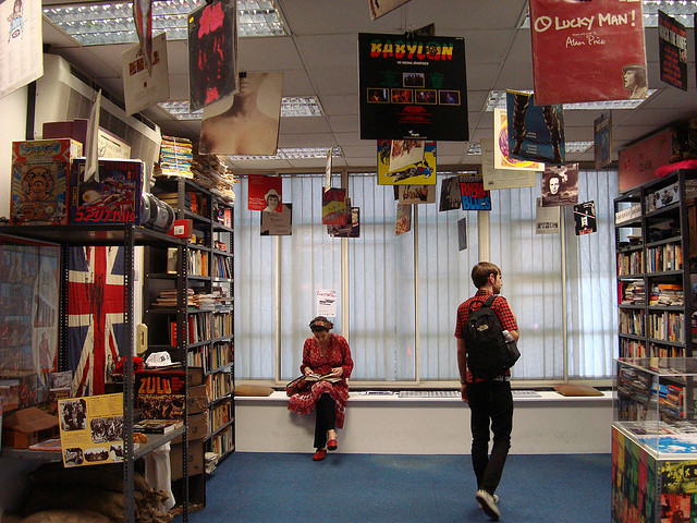 Rock and Roll Public Library by Judy via Flickr