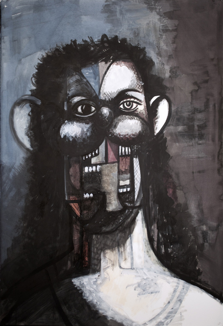 Colourful And Disturbing Portraits By George Condo