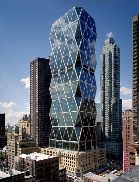 Hearst Tower, New York by Sir Norman Foster (Image courtesy Chuck Choi and RIBA)
