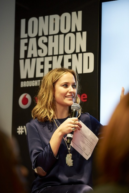 Insider Talks & Trends At Vodafone London Fashion Weekend