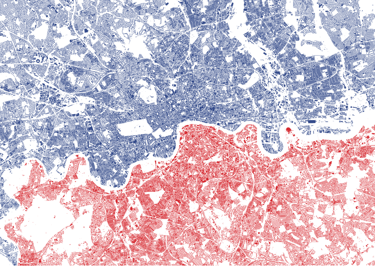 Mapping London: The North/South Divide And Electric Tube